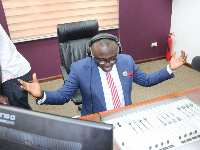 Bola Ray gives thanks to God for a successful journey