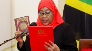 President Samia Suluhu Hassan took office on March 19
