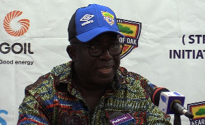 Hearts of Oak Chief Executive Officer Frederick Moore