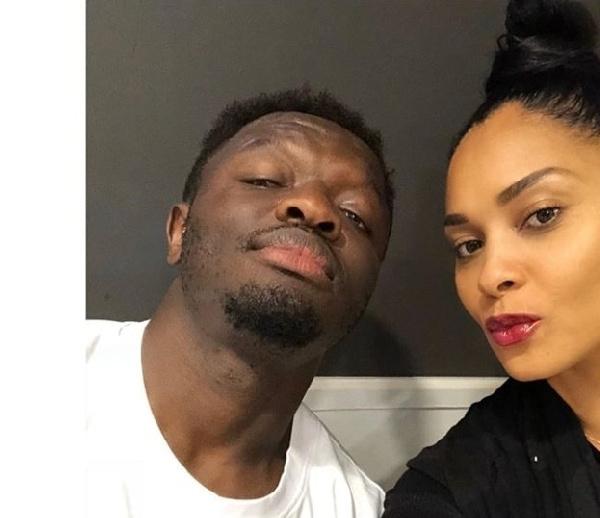 Former Black Stars midfielder, Sulley Muntari and his wife Menaye Donkor