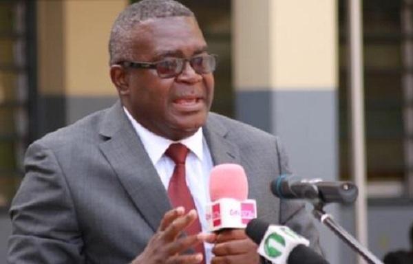 Former Director-General of the Ghana Education Service, Charles Aheto-Tsegah