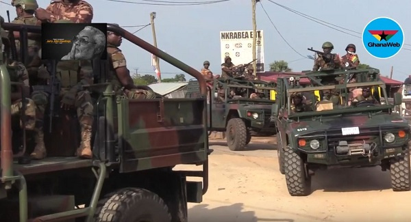 Election 2020: Security agencies march for peace on principal streets of Accra