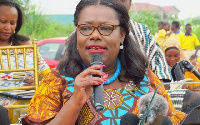 Nana Oye Lithur, Minister of Gender, Children and Social Protection with aged persons