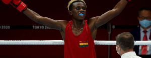 Samuel Takyi Boxing Victory
