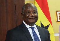 Mr. Ken Amankwah, Chairman of the Ghana@60 committee launched the competition