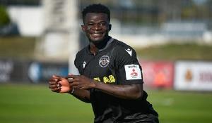 Ghanaian forward, Malik Abubakari