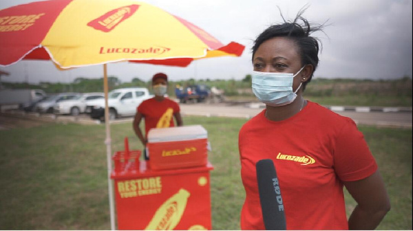 Lucozade refreshes personnel working on 100-bed infectious disease facility