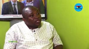 Former Communications Director of GFA, Ibrahim Saanie Daara
