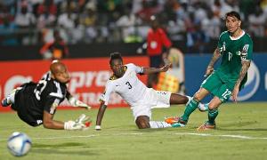 Gyan scored the winner against Algeria with Ghana facing elimination