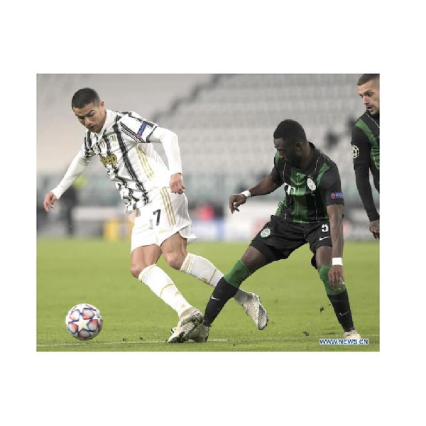 We didn't deserve to lose against Juventus - Ferencvaros defender Abraham Frimpong