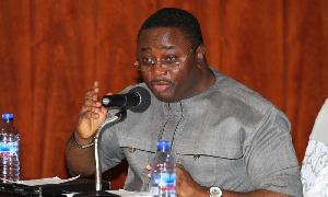 Director of Election of the National Democratic Congress, Elvis Afriyie-Ankrah