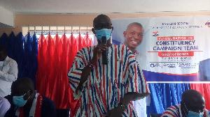 NPP parliamentary candidate for Lower Manya Krobo, Samuel Nuertey Ayertey