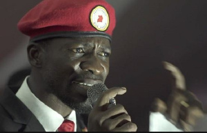 Bobi Wine, Ugandan politician, singer and Member of Parliament for Kyadondo