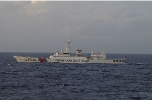 Armed Chinese Vessel