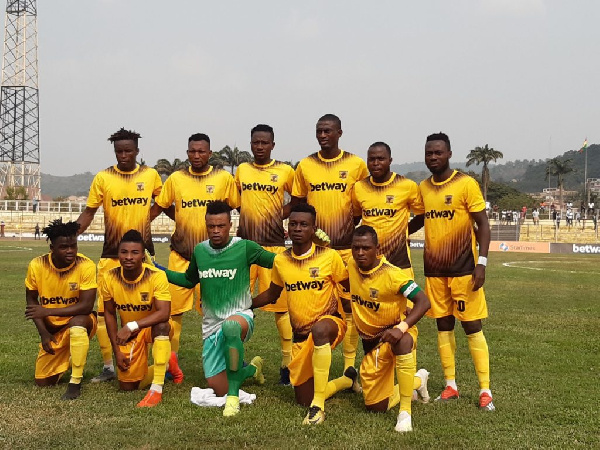 MTN FA CUP: AshantiGold SC with easy ride over Achiken FC advance to the next round