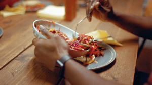File photo: Eating the right food can help control diabetes