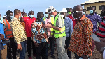 Minister of Transport impressed with progress of works on fishing landing sites
