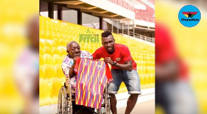 The man is said to have never missed Hearts of Oak home match for the past fifty years