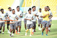 Black Stars will hold their first training session in Dubai tomorrow