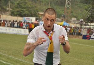 Coach Tom Strand