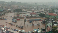 Seven people reportedly drowned in Kumasi after Thursday evening's heavy downpour