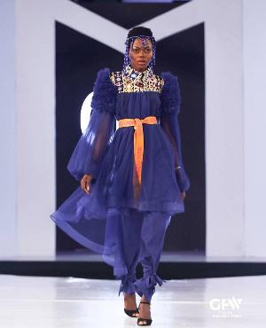 Ghanaian model Beatrice Eli