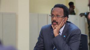 Somali president, Mohamed Abdullahi Farmaajo