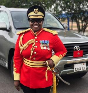 General Constance Ama Emefa Edjeani-Afenu of the Ghana Armed Forces