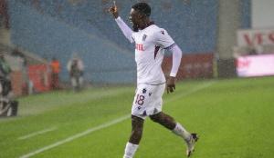 Black Stars striker, Caleb Ansah Ekuban