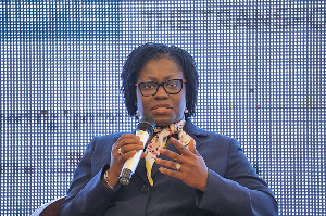 Second Deputy Governor of the Bank of Ghana,  Elsie Addo Awadzi