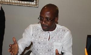 Chairman of the Ghana Music Rights Organisation (GHAMRO), Rex Omar