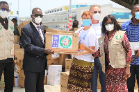 Ghana has received the medical supplies from WAHO for the treatment and management of COVID-19