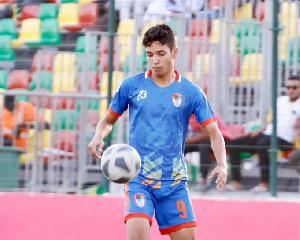 FC Nouadhibou player, Hemeya Tanjy