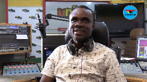 Selassie Sikanku has defied all odds to pursue his dream of radio presenting