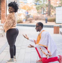 Okyeame Kwame and wife Annica have demonstrated the Ghanaian fairytale like no other