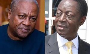 John Dramani Mahama and Dr Kwabena Duffuor