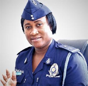 DSP Efia Tengey, head of Public Affairs, Greater Accra
