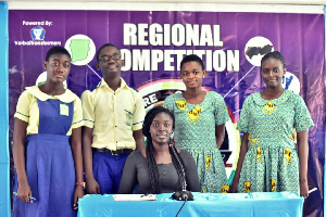 Six schools from the Central Region displayed their academical prowess to qualify