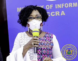 Minister of Gender, Children and Social Protection, Cynthia Mamle Morrison