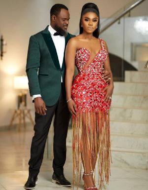 Singer Becca and husband, Dr Tobi Sanni Daniel