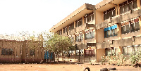 The backyard of the Treasury Block popularly known as 'Education Office'