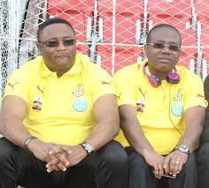 Elvis  Afriyie Ankrah and Kwesi Nyantakyi