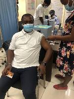 Oforikrom MP takes coronavirus vaccine jab