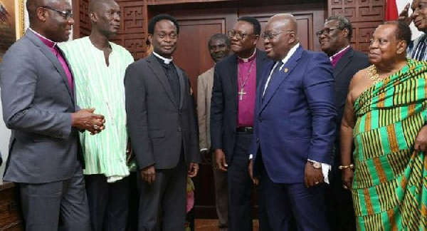 Election 2020: Your intervention reduced political vigilantism – Akufo-Addo to Peace Council