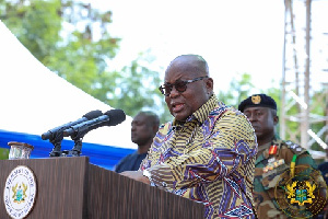 President Akufo Addo Speaks At The Congregation Ceremony