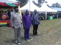 District Chief Executive (DCE), Kwasi Bonzo, Superintendent of Police (SOP) Thomas Bayor