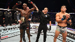 Adesanya's victory was his second UFC middleweight title defence