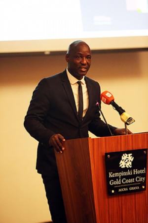 CAF Deputy General Secretary Anthony Baffoe