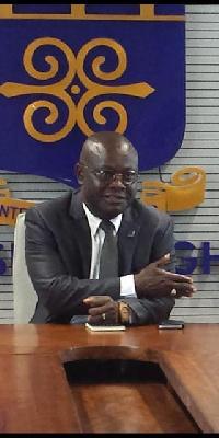 Professor Ebenezer Oduro Owusu, Vice Chancellor of the University of Ghana