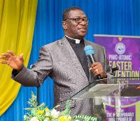 Resident Pastor of the Pentecost International Worship Centre, Reverend Daniel Nii Teiko Tackie